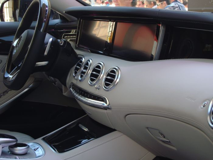 Mercedes-Benz Classe S Coupé, anteprima italiana 9