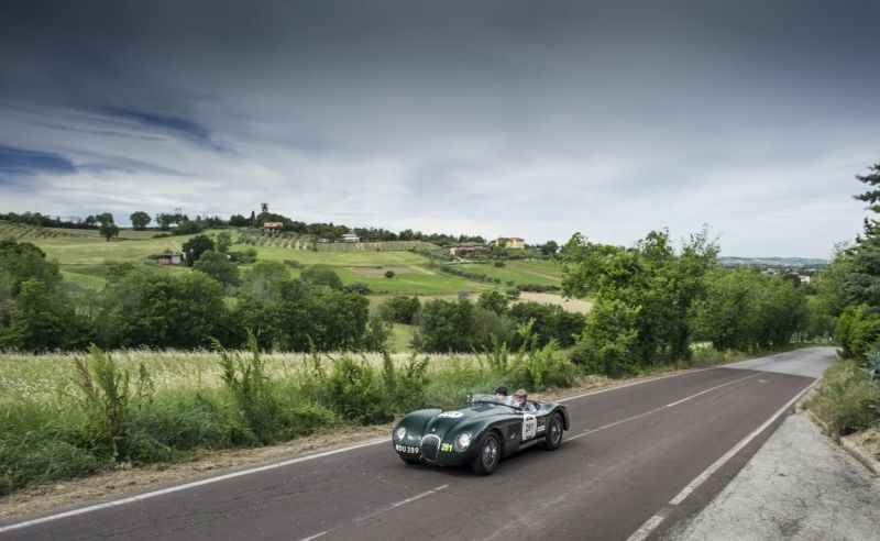 Mille Miglia JD Classics celebrates another successful finish in Italy 3