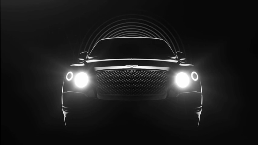SUV Bentley: in produzione dal 2016
