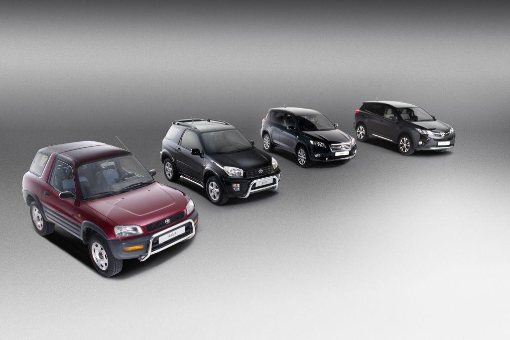 Toyota Rav4: da 20 anni trendsetter nel segmento degli Sport Utility