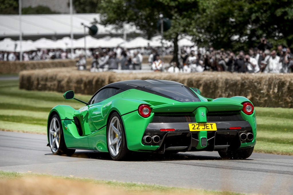 Ferrari al Goodwood Festival of Speed. Tutte le immagini live
