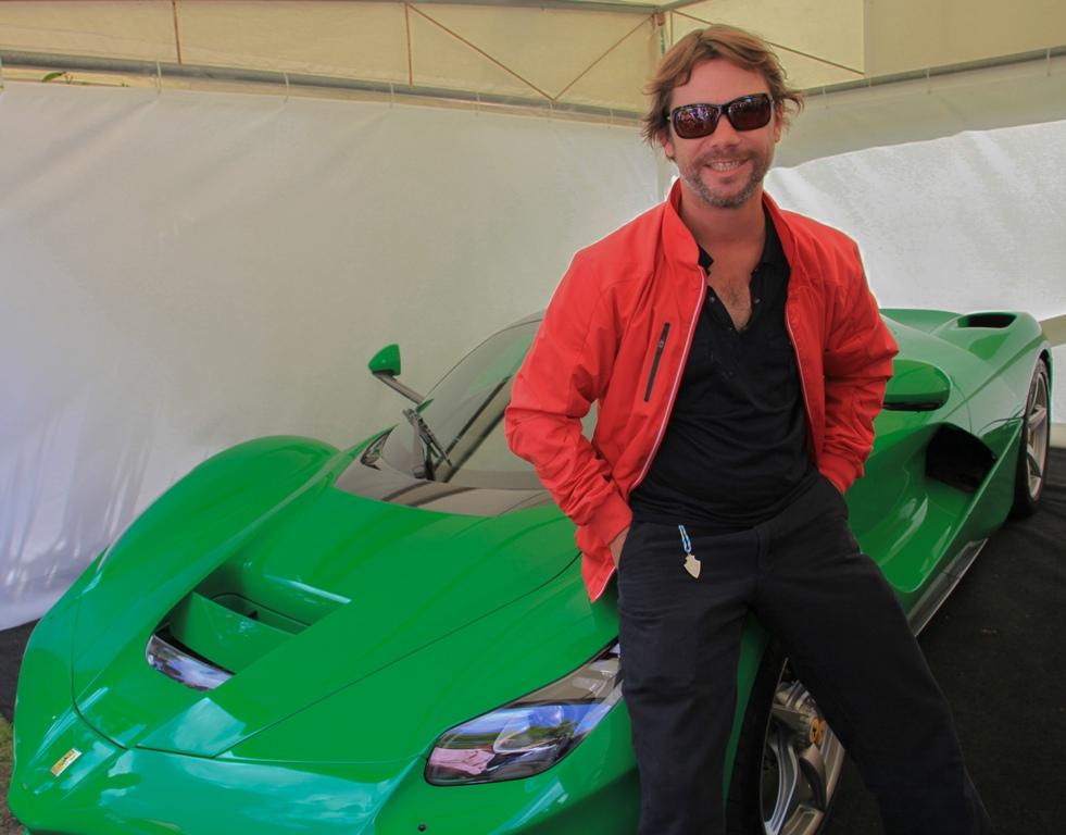 LaFerrari verde di Jay Kay, Jamiroquai, protagonista a Goodwood