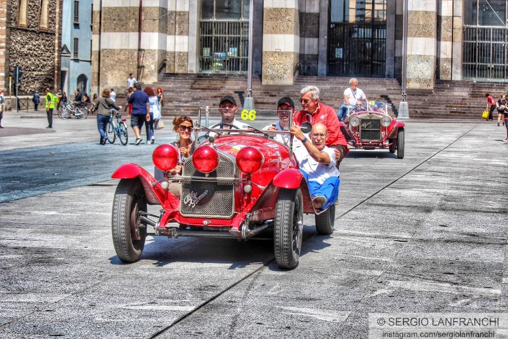 Alfa Romeo alla Mille Miglia 2014: video e immagini
