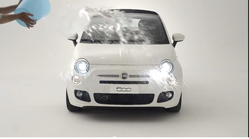#IceBucketChallenge: è la volta di Fiat 500 che lancia la sfida a…
