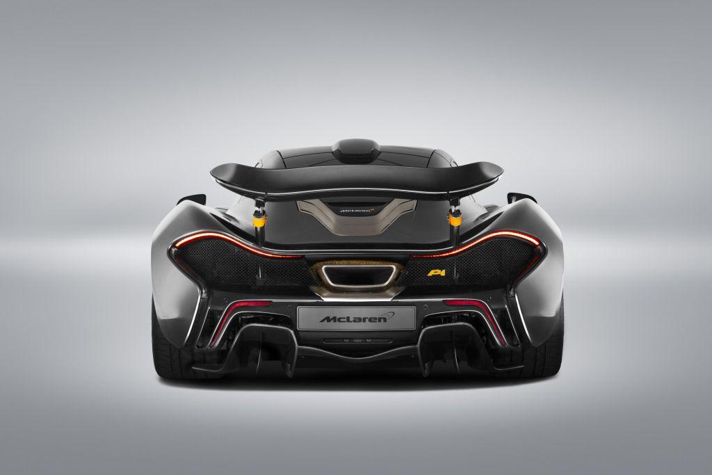 McLaren P1 e  650S Spider al Concorso d'Eleganza di Pebble Beach