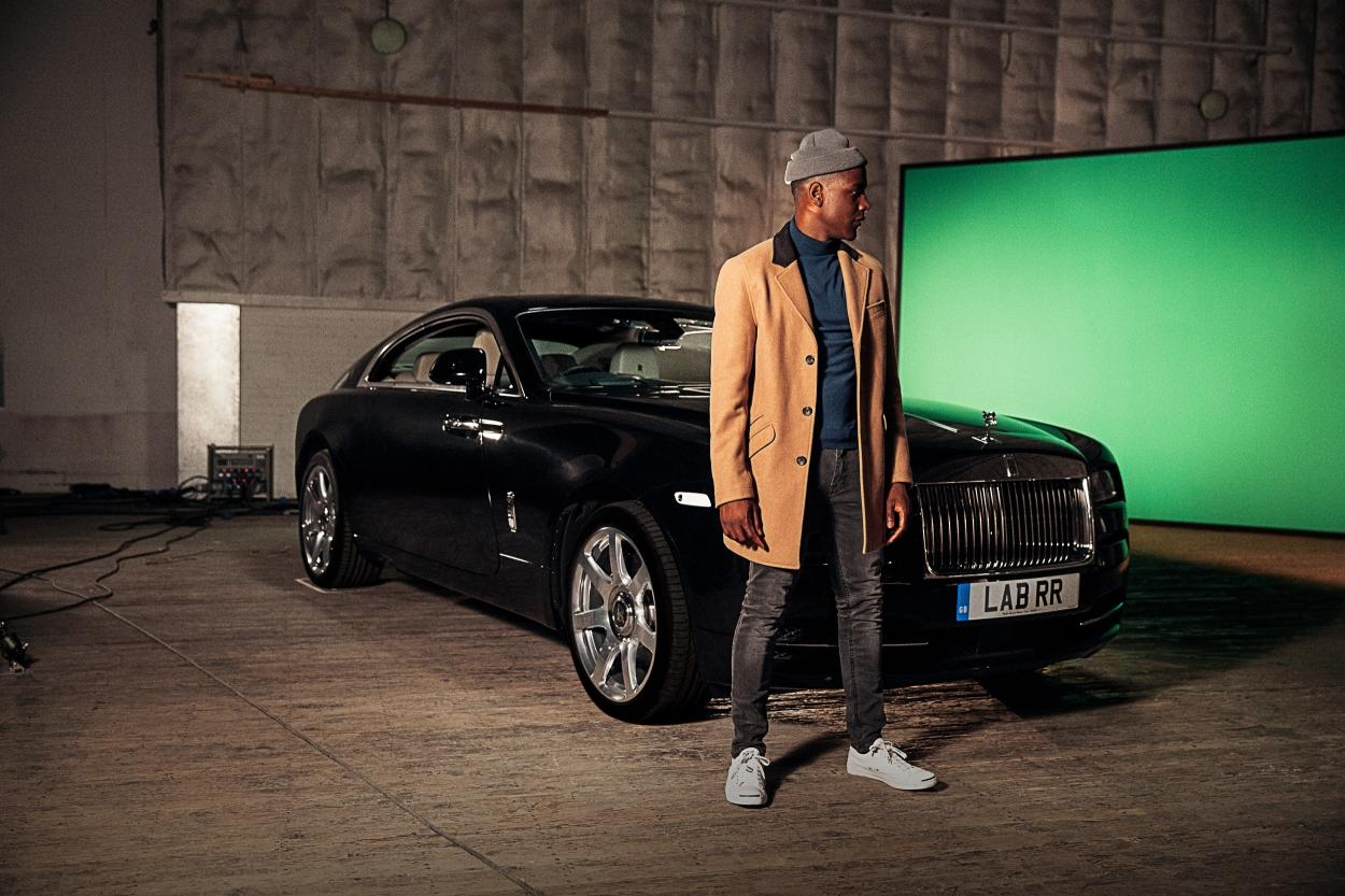 Rolls-Royce Wraith to feature in Labrinth's music video