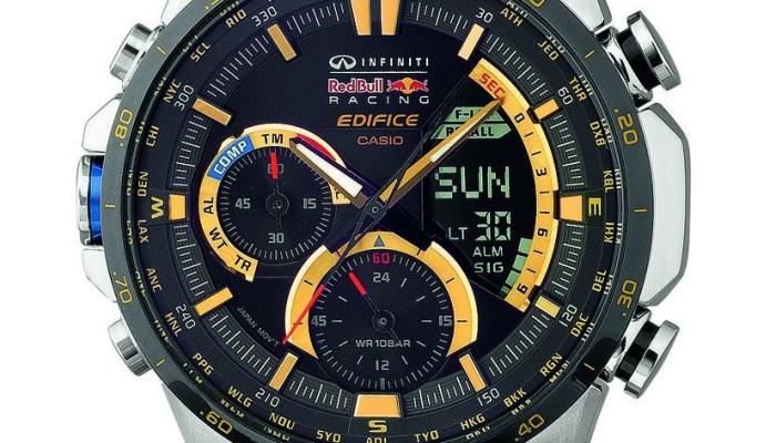 EDIFICE Championship Gold limited edition in collaborazione con Infiniti Red Bull Racing