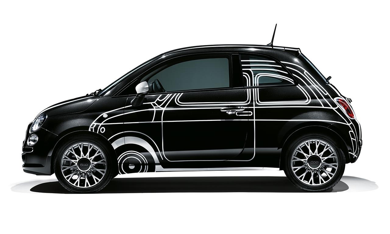 """Fiat 500 Couture: l'iconico modello diventa """"tailor-made"""""""