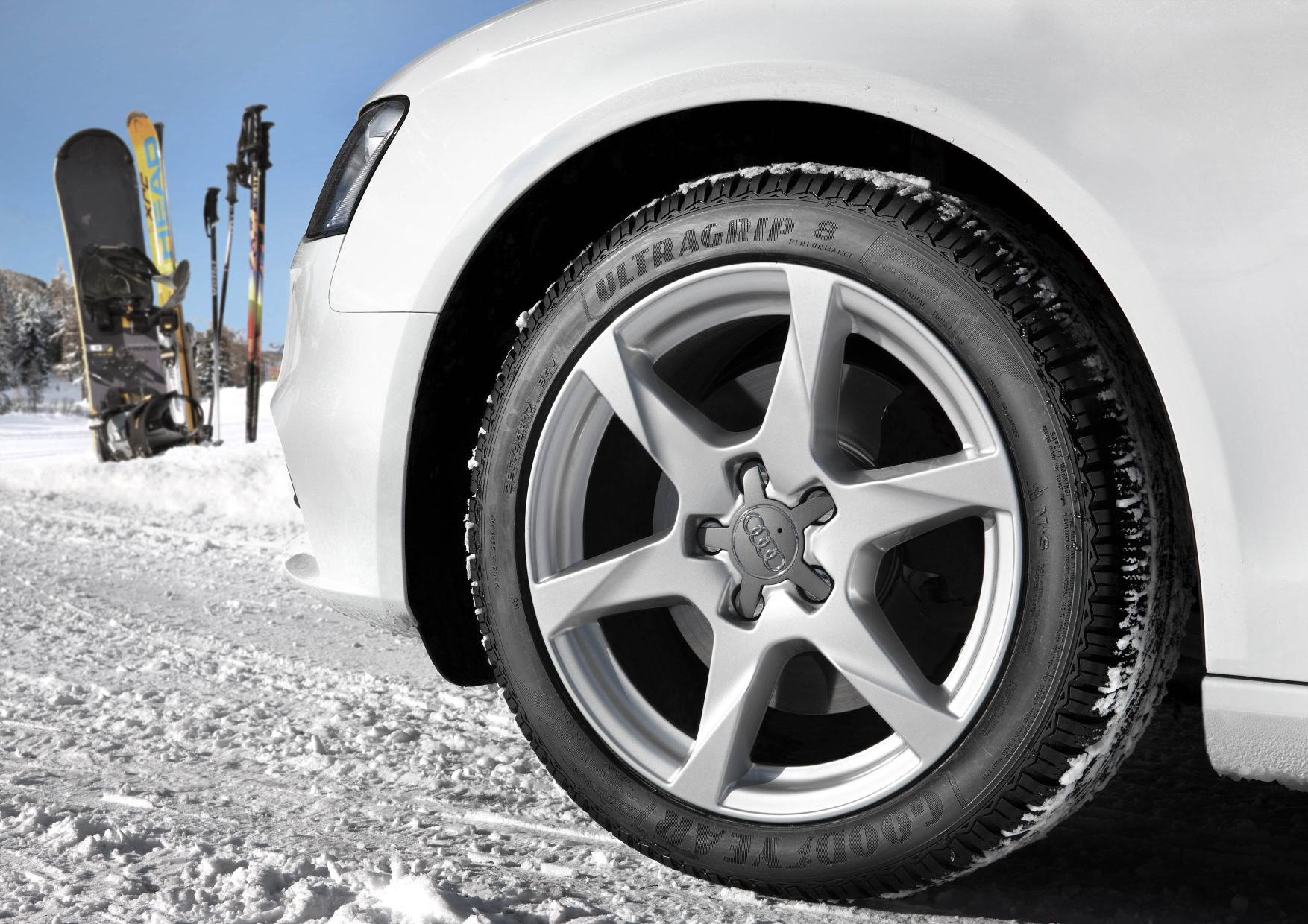 Goodyear presenta il nuovo pneumatico invernale UltraGrip9