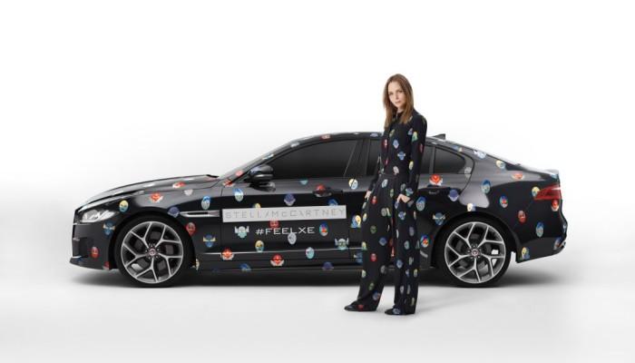 Jaguar XE e Stella McCartney di scena a Parigi