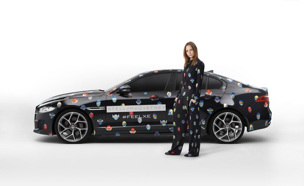 Jaguar XE e Stella McCartney di scena a Parigi 1