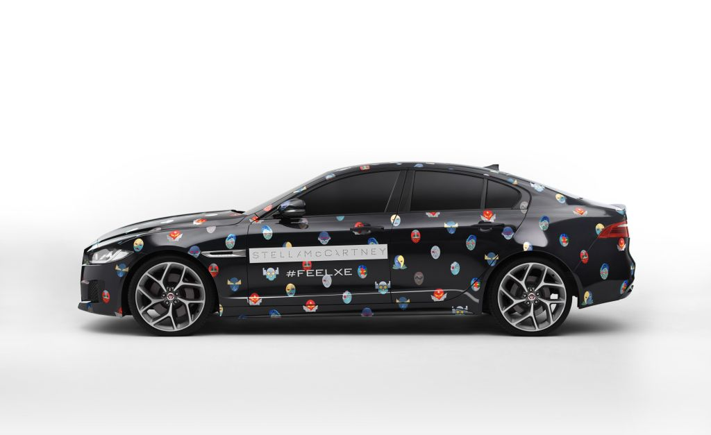 Jaguar XE e Stella McCartney di scena a Parigi 2