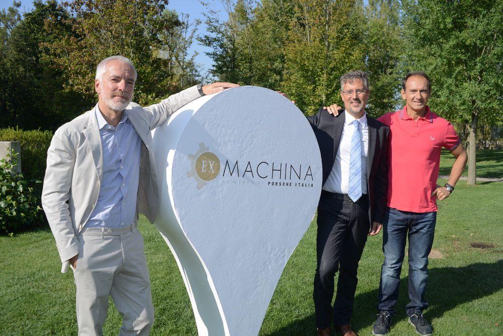 """Porsche Italia presenta """"Ex Machina"""", un progetto dedicato ai giovani."""