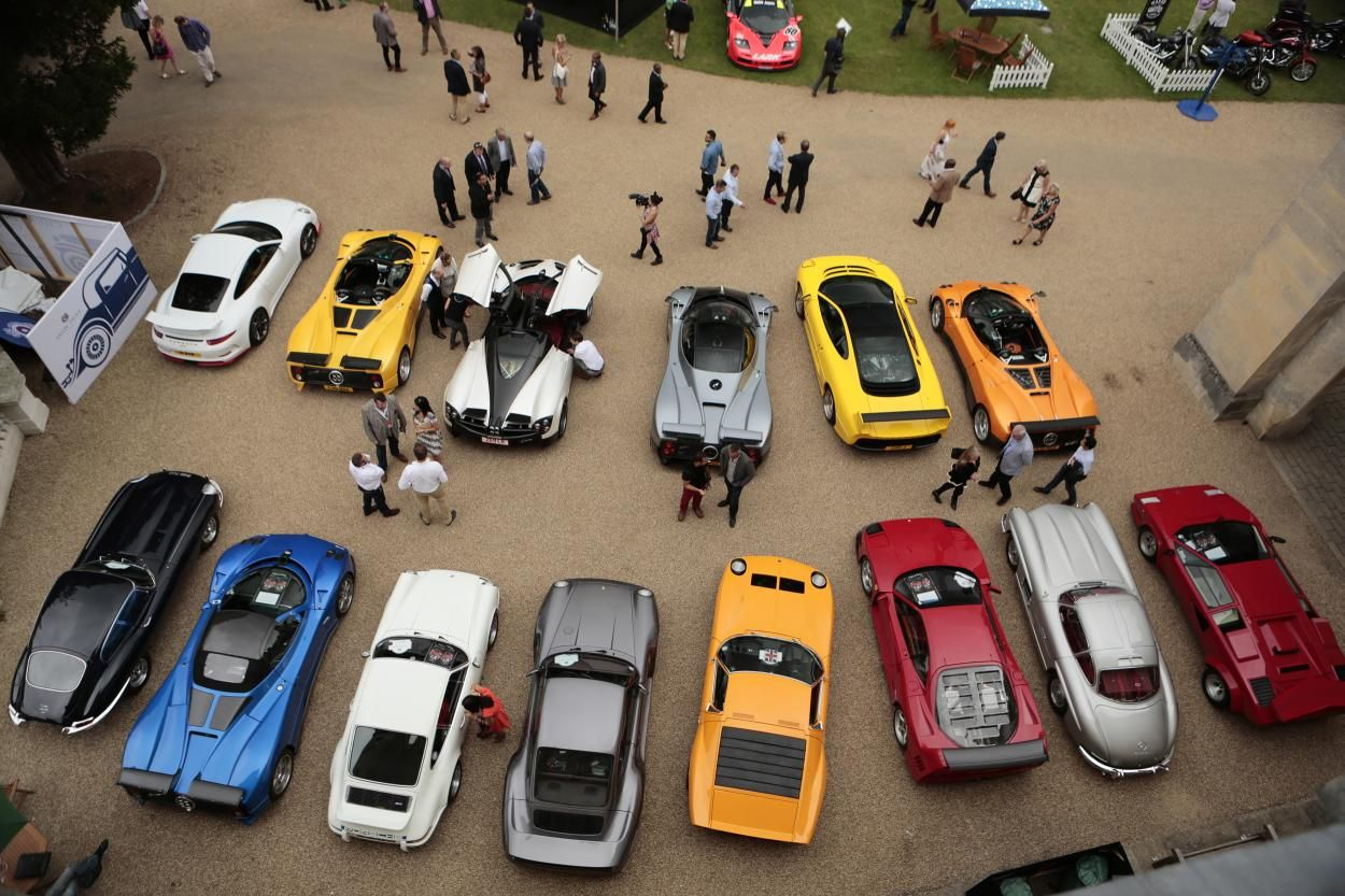 Salon Privé 2014: the British Supercar Show