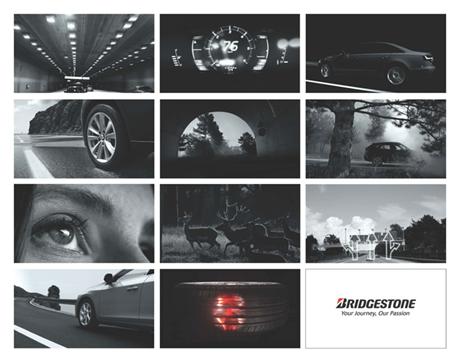 La nuova campagna pubblicitaria per i pneumatici Bridgestone  si concentra sulla sicurezza