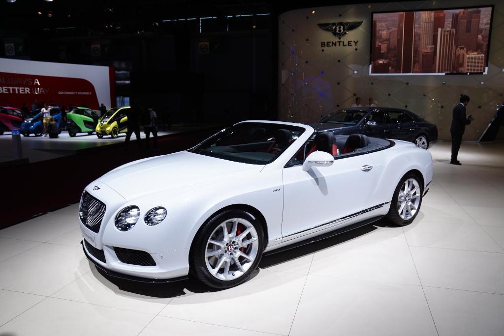 Bentley GT V8S Convertible