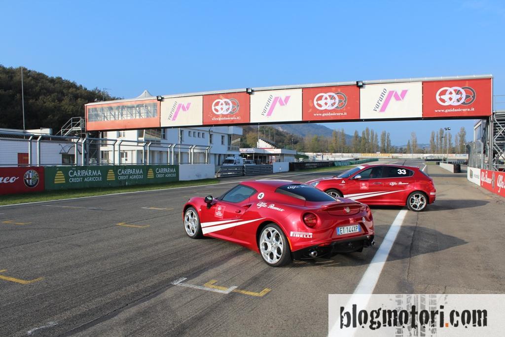 Corsi di Guida Alfa Romeo: top performance e sicurezza sulla pista di Varano
