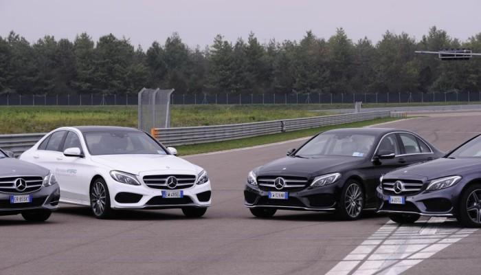 Nuova Mercedes-Benz Classe C BlueTEC HYBRID al Mercedes-Benz Track Day – La nostra prova su pista