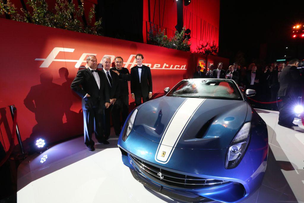 I 60 anni di Ferrari in America: le immagini da Beverly Hills