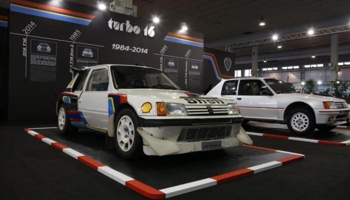 Peugeot ad Auto e Moto d'Epoca: trent'anni di Turbo 16, tutte le immagini live