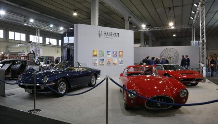Maserati ad Auto e Moto d'Epoca: le immagini dal vivo