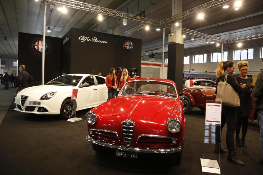 Alfa Romeo e Abarth ad Auto e Moto d'Epoca: tutte le immagini dal vivo