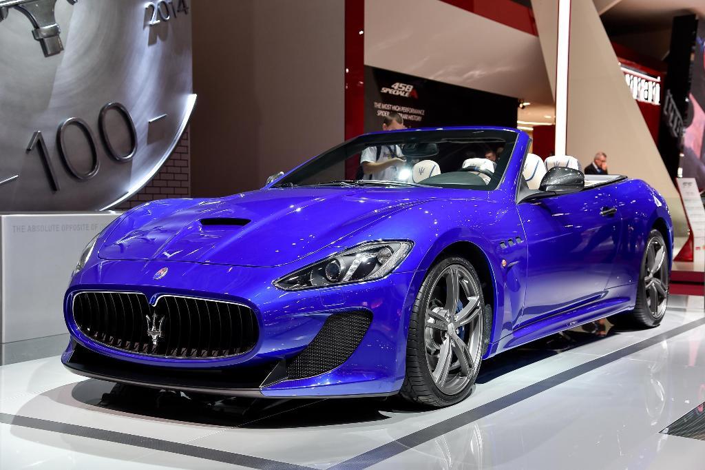 Maserati GranCabrio MC Parigi