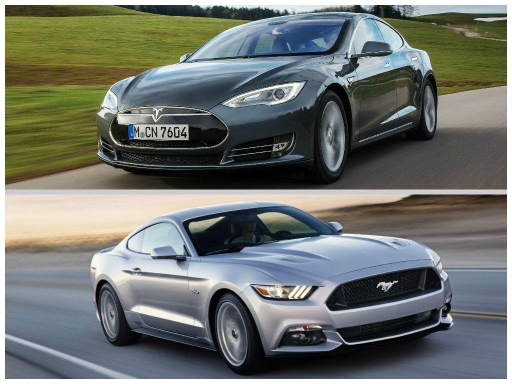 Tesla Motors e Mustang: due simboli USA alla conquista dell'Europa
