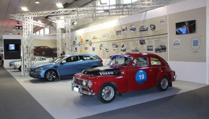 Volvo ad Auto e Moto d'Epoca: le immagini dal vivo