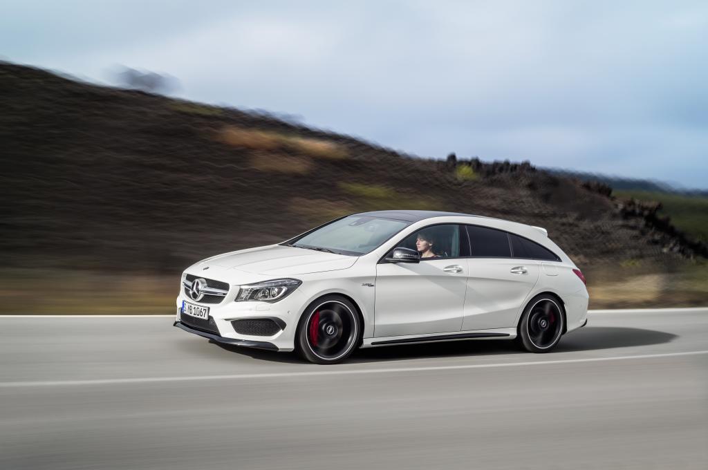CLA 45 AMG Shooting Brake: nuova Mercedes ad alte prestazioni