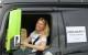Camionisti in pista per la guida sicura con 'Vita da Camionista' Iwona