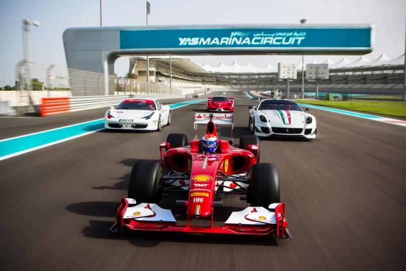 Ferrari: Abu Dhabi ospita le Finali Mondiali