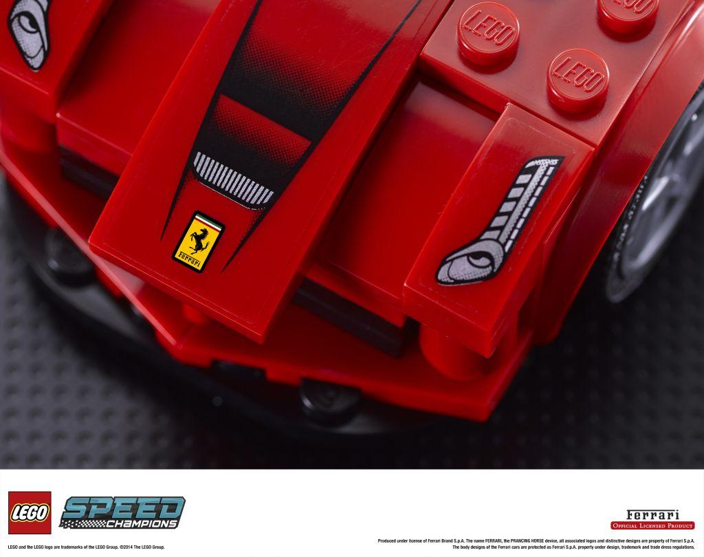 Ferrari, Mc Laren e Porsche: LEGO ricostruisce i miti della corsa
