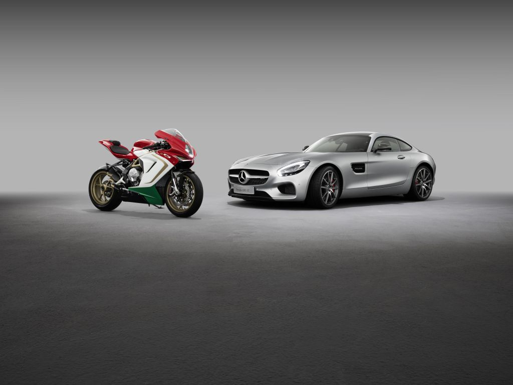 Mercedes-AMG acquisirà una quota del 25% in MV Agusta