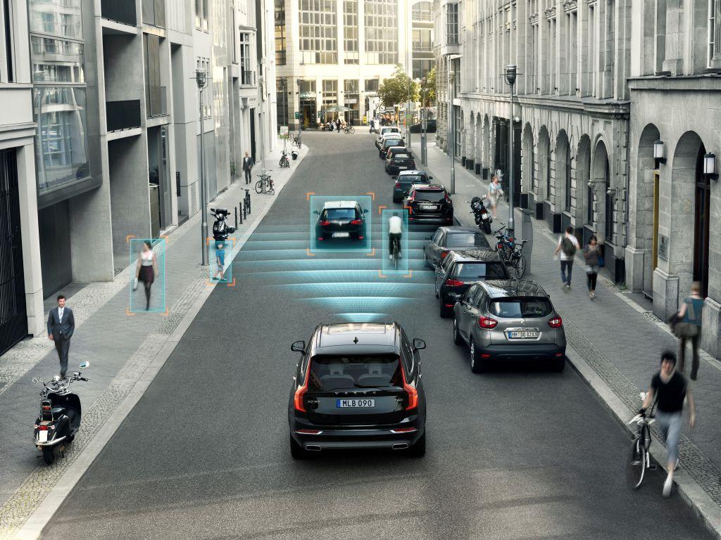 City Safety di Volvo Cars ecco come funziona il sistema per prevenire le collisioni 3