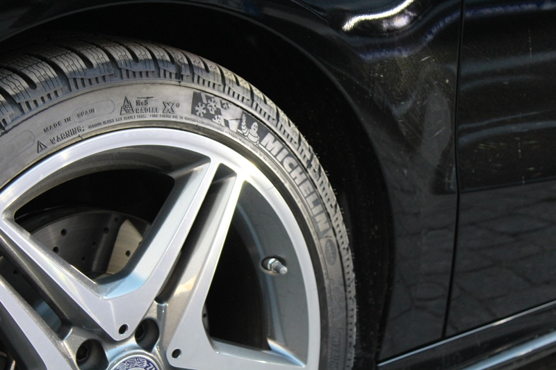 Nuova Mercedes Classe B - Michelin Winter Test-Drive 0157