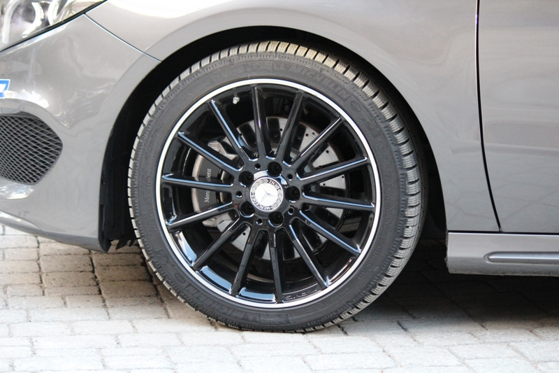Nuova Mercedes Classe B - Michelin Winter Test-Drive 0179