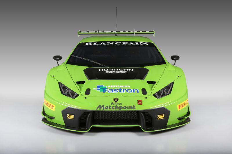 Ecco la nuova Lamborghini Huracán GT3
