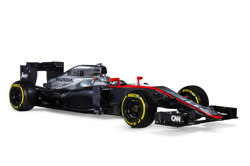 F1: the new McLaren-Honda MP4-30