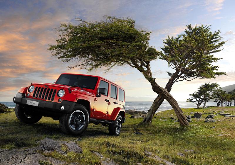 Wrangler X, la nuova personalizzazione dell'icona Jeep 1