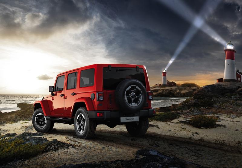 Wrangler X, la nuova personalizzazione dell'icona Jeep 2