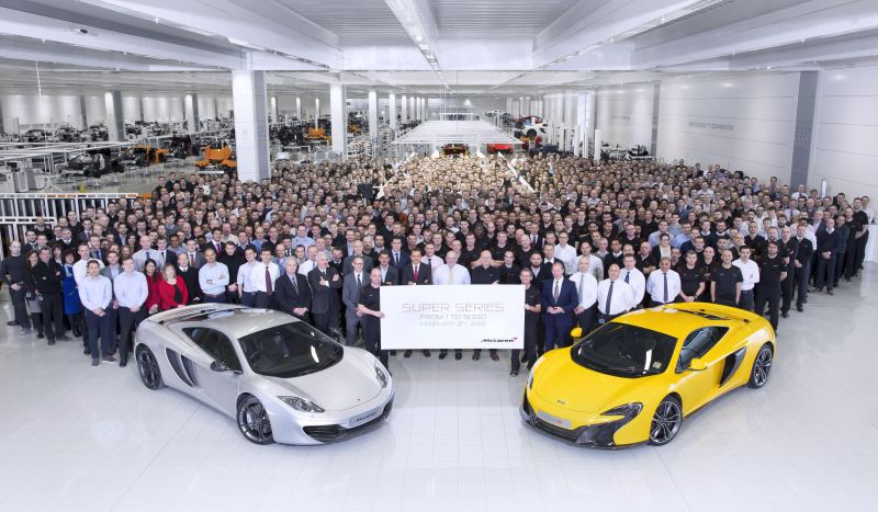 Dalla McLaren 12C alla 675LT i successi della gamma Super Series