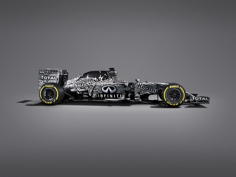 Infiniti Red Bull's Racing's 2015 Formula One car, the RB11