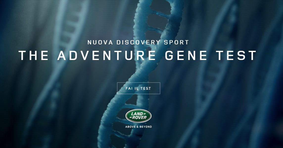 Hai il Gene dell'Avventura? Scoprilo con Land Rover