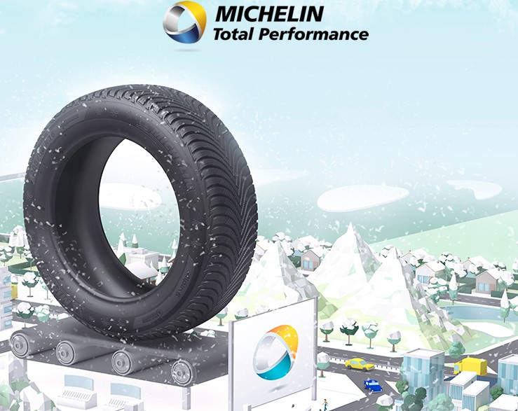 MICHELIN TOTAL PERFORMANCE:  strategia e impegno per rendere sicurezza su strada