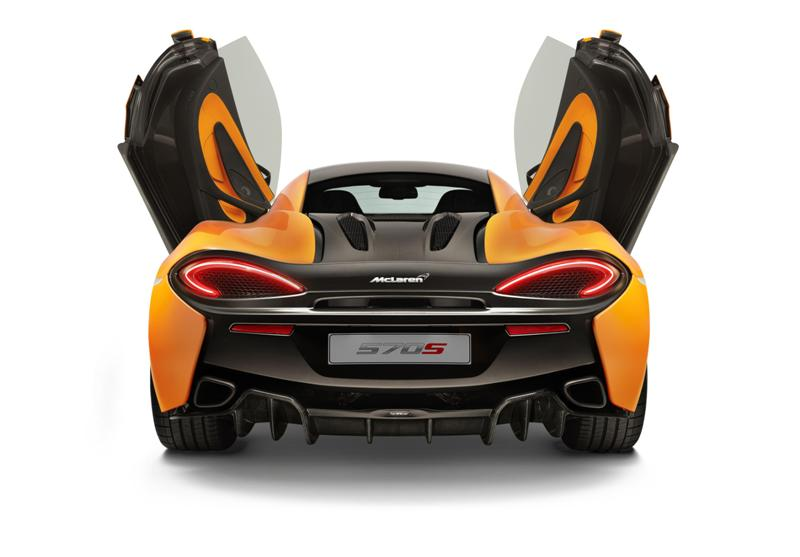 La spettacolare McLaren 570S Coupé debutta a New York