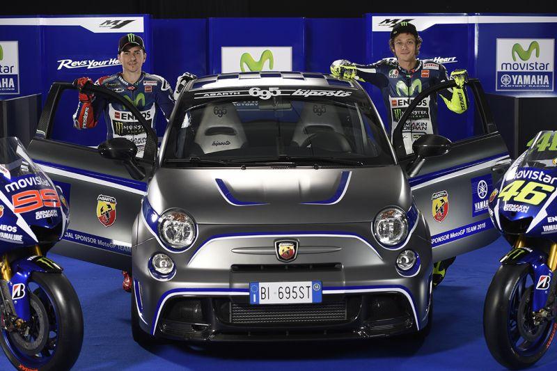 Abarth: omaggio a Valentino Rossi e all'Italia dei motori