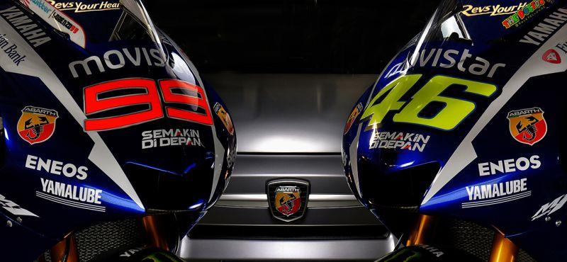 Abarth omaggio a Valentino Rossi e all'Italia dei motori