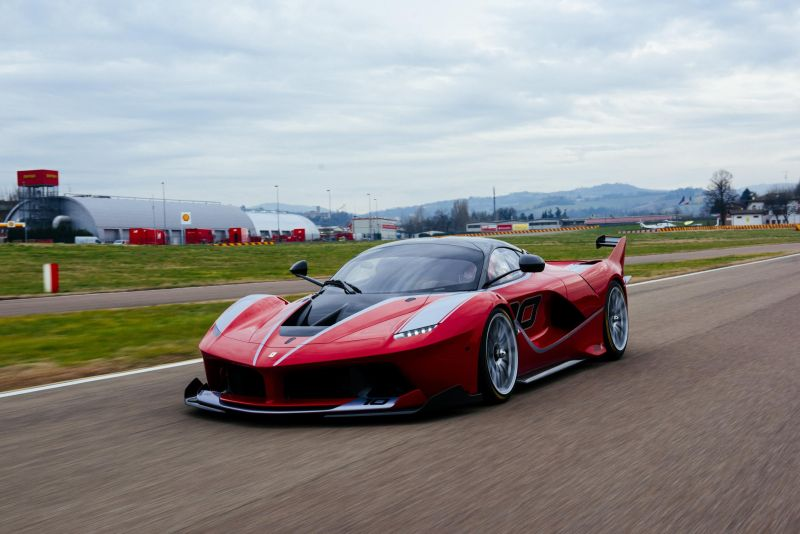 "Ferrari FXX-K è ""Best of the Best"""