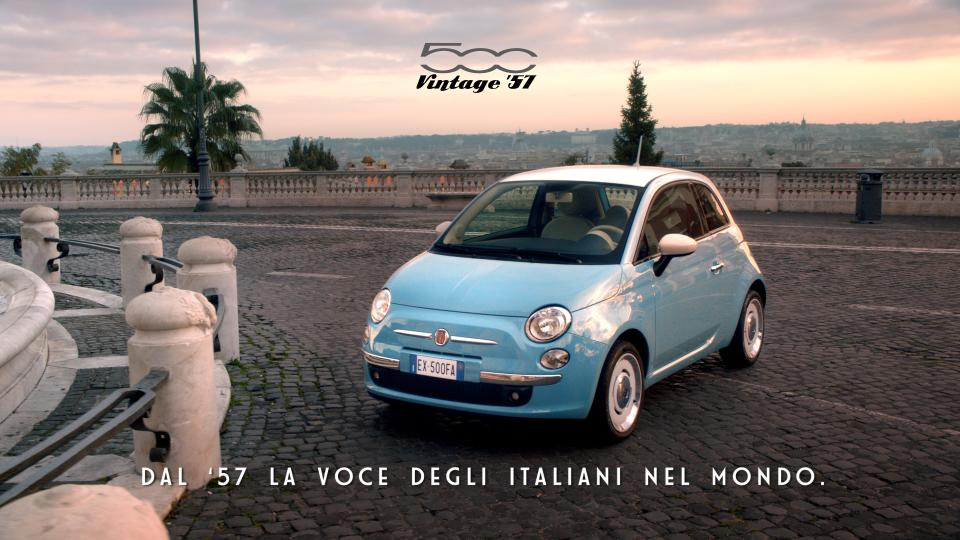 Fiat 500 Vintage '57 on air in Italia il nuovo spot dedicato alla serie speciale 2